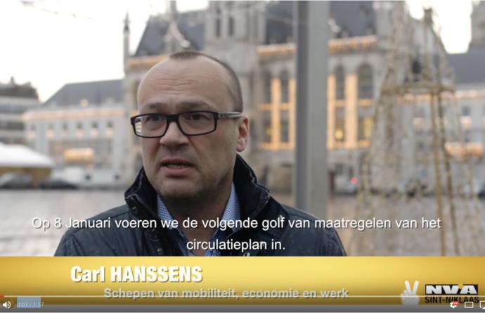 Schepen Carl Hanssens
