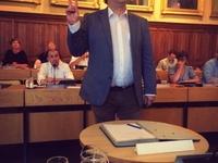 Filip Herman legt eed af als gemeenteraadslid
